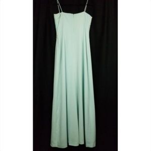 Daymor Couture Dresses - Daymor Couture womens formal gown beaded top green